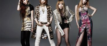 Korean Pop Band 2NE1